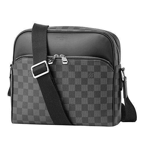 ルイヴィトン(Louis Vuitton) ダミエ グラフィット DAMIER GRAPHITE N41408 ショルダーバッグ ブラック 黒/グレー[並行輸入品]