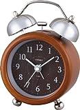NOA ベルアラームCharlotte(シャーロット) 置き時計 ブラウン T-659 BR