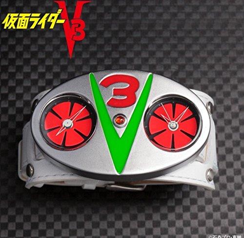 プレミアムバンダイ 仮面ライダーV3 変身ベルト型腕時計 腕時計
