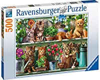 Ravensburger UK 14824棚の上のRavensburger Cats 500pcジグソーパズル、