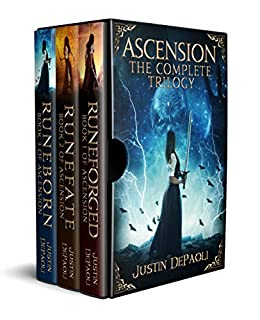 Ascension: The Complete Trilogy by [DePaoli, Justin]