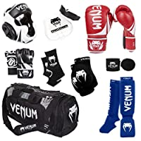 Venum Challenger 2.0 MMAトレーニングセット 12-Oz. Boxing Gloves, L/X-L MMA Gloves
