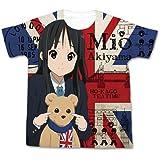 映画「けいおん!」 秋山澪フルグラフィックTシャツ ホワイト サイズ:M