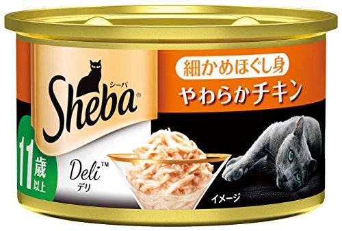 シーバ デリ 11歳以上 細かめほぐし身 やわらかチキン 85g 1箱24缶