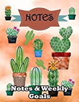Notes: Notes & Weekly Goals