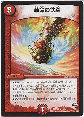 デュエルマスターズ 革命の鉄拳(レア)/ 燃えろドギラゴン!!(DMR17)/ 革命編 第1章/シングルカード
