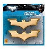 The Dark Knight Rises Batman Batarangs ダークナイトバットマンBatarangsを昇る♪ハロウィン♪サイズ:One-Size