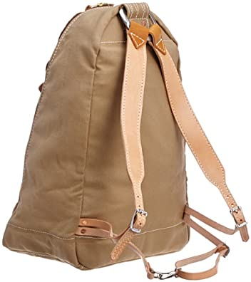 Triangle Back Pack 7279: Khaki Canvas