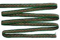 ペルー アンデス ワンカイヨ 民族織物 紐 長さ5m 幅約1.5cm OT-022D