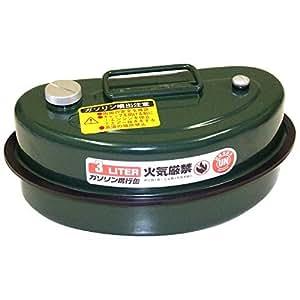 ガレージ・ゼロ ガソリン携行缶 3L [緑/UN規格/亜鉛メッキ鋼板/消防法適合品]ガソリンタンク (GZKK10)