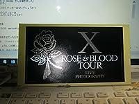 X JAPAN エックス ROSE&BLOOD TOUR ステッカー YOSHIKI HIDE TAIJI SUGIZO EXTASY LUNA SEA GLAY ZiKILL TOKYO YANKEES VIRUS