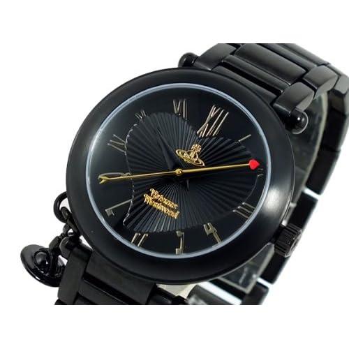 ヴィヴィアン ウエストウッド VIVIENNE WESTWOOD 腕時計 レディース VV006BK[並行輸入]