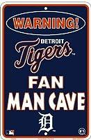 Detroit Tigers Fan Man Caveサイン8x 12