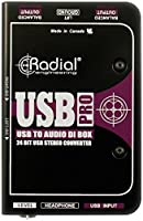 Radial Engineering USB-Pro Stereo USB Laptop DI by Radial Engineering