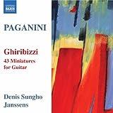 パガニーニ:ギターのための43の小品集「気まぐれ」MS43
