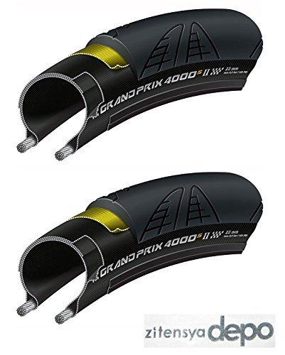 国内正規代理店品 Continental(コンチネンタル) GrandPrix 4000S2(グランプリ4000S2) 2本セット+zitensyad...