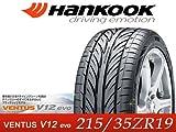 Hankook/ハンコック タイヤ 4本セット VENTUS V12 evo/ヴェンタス V12エヴォ(K110) 215/35ZR19