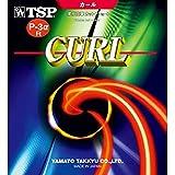TSP ヤマト卓球ラケット用ラバー カールP-3アルファR ソフト 020525 粒高 赤 トクウス