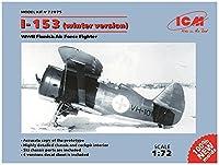 ICM 1/72 フィンランド空軍 ポリカルポフ I-153 チャイカ 冬季仕様 プラモデル 72075