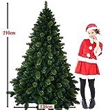 特別割引中!最高級リッチ クリスマスツリー210cm ヌードツリー本物そっくり★モミの木と松の枝の2種類で構成され1本1本細かく本物と見間違うような臨場感のあるツリーです。 ドイツ、ベルギー輸出専用21-N