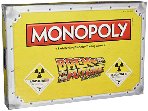 Back to The Future Monopoly Board Game バックトゥザフューチャー モノポリー【並行輸入品】