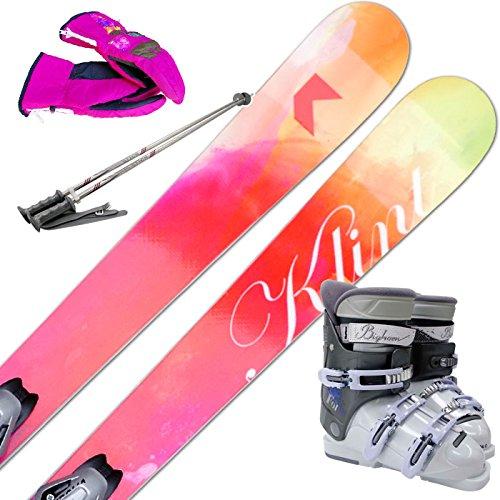 [해외] KLINT (클린트) 스키5점 세트 HAZE 빈딩/부츠/스톡/글러브 부착-