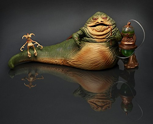 Star Wars Jabba the Hutt & Salacious Crumb Figure 2014 Comic Con SDCC Exclusive