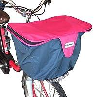 ハローエンジェル 自転車用 2段式かごカバー 前用 (ピンク)