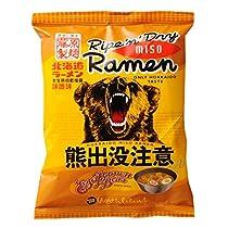 藤原製麺 熊出没注意 味噌ラーメン 114g