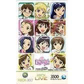 Xbox LIVE 3500 マイクロソフト ポイント カード THE IDOLM@STER 限定バージョン(A)【プリペイドカード】【メーカー生産終了】