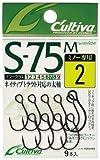 オーナー(OWNER) S-75M シングル75(ミノー用) 2/0 11642
