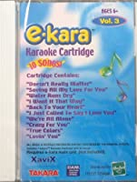 E-Kara Karaoke Cartridge: Vol 3 by E-Kara