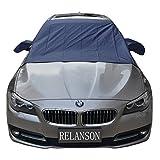RELANSON凍結防止カバー サンシェード 車 日除け フロン 積雪対策 冬 雪対策 凍結防止 夏冬兼用 車種汎用(157*142CM)