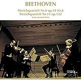 ベートーヴェン:弦楽6番、15番