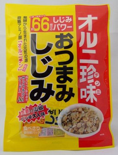 オルニ珍味 おつまみしじみ 67g × 30個