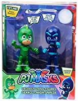 Disney Junior PJ Masks Gekko & Night Ninja Exclusive Talking Action Figure 2-Pack [並行輸入品]