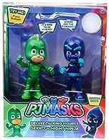 Disney Junior PJ Masks Gekko & Night Ninja Exclusive Talking Action Figure 2-Pack [並行輸入品]