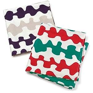 ブルーム ガーゼタッチ バスタオル 同柄色違い 2枚セット 日本製 ガーゼタオル (ゆらゆら・もくもく)