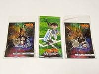 名探偵コナン 劇場版 ストラップ 3個セット 純黒の悪夢 11人目のストライカー 青山剛昌 フィギュア