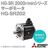 三菱電機 HG-SR202 サーボモータ HG-SR 2000r/minシリーズ 200Vクラス (中慣性・中容量) (定格出力容量 2.0kW) NN