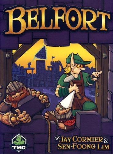 Belfort ベルフォート 都市建設ゲーム ボードゲーム [並行輸入品]