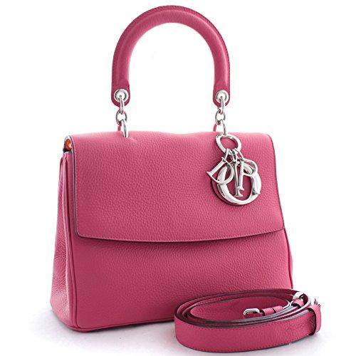 クリスチャンディオール Christian Dior BE DIOR ビーディオール 2way M0981 ハンドバッグ ピンク オレンジ レディース レザー [中古]