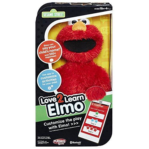 세서미 스트리트 커스터마이즈 해 놀 수 있는 에르모 장난감 Playskool Friends Sesame Street Love2learn Elmo ~ NEW [병행수입품]-q1