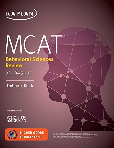 MCAT Behavioral Sciences Review 2019-2020: Online + Book (Kaplan Test Prep) (English Edition)