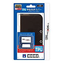 TPUやわカタカバー for Newニンテンドー3DS LL クリアブラック
