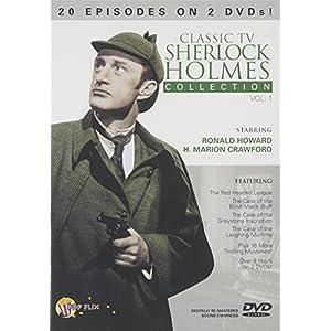 Classic TV Sherlock Holmes 1 [DVD] [Import]