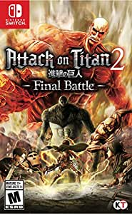 Attack On Titan 2: Final Battle (輸入版:北米) – Switch