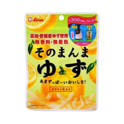 ライオン菓子 そのまんまゆず 23g×6袋