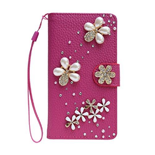 iPhoneXs Max スマホケース 手触りのいい 高級合皮 手帳型 ハンドメイド 丈夫で長持ち カード収納 ミラー 大人かわいい medaca めだか(ピンク)