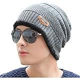 NEWモデル ニット帽 ワッチ レディース メンズ ボア付き 防寒 グレー